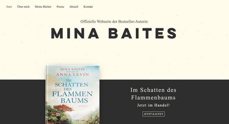 Mina Baites alias Iris Klockmann - Schriftstellerin