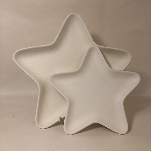 Star Plates - 2 sizes