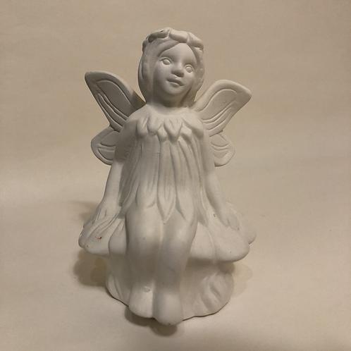 Sitting Flower Fairy - 11.5 (h)