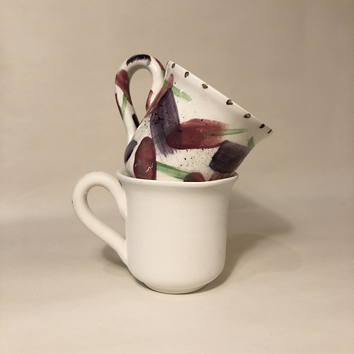 Flared Footed Cup - 8.5cm (h)