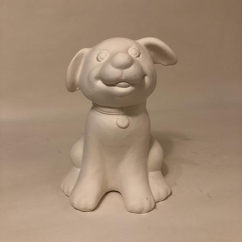 Large Sitting Dog - 14cm (h)