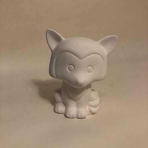 Big head Fox. - 8.5cm (h)