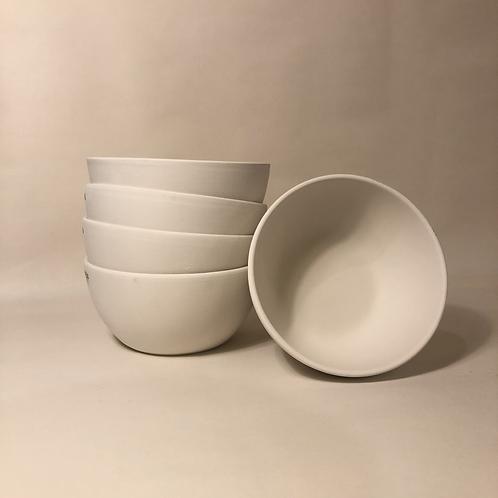 Simple Cereal Bowl - 13.5cm (diam) 7cm (h)