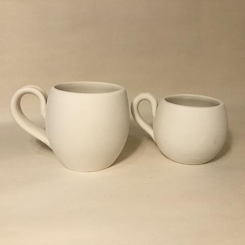 Barrel Mugs - 2 sizes