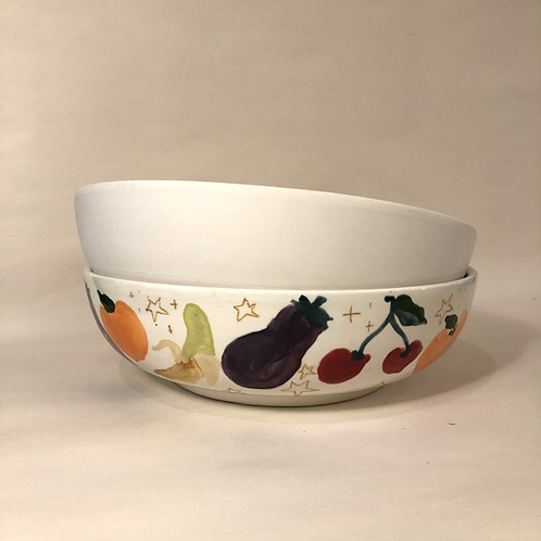 Shallow Bowls - 3 sizes