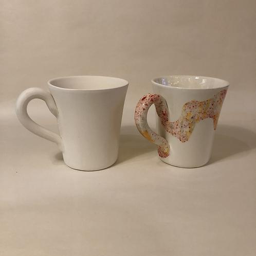 Flared Cone Mug - 11.5cm (h)