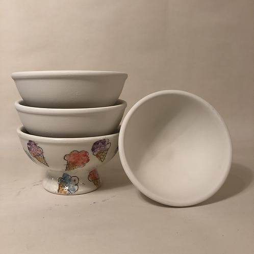 Ice Cream Bowl - 13.5cm (diam) 7.5cm (h)
