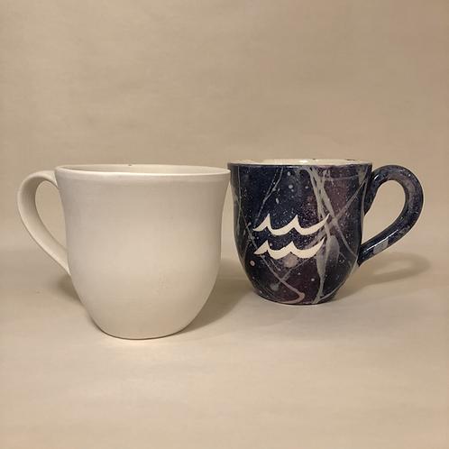 Curvy Mugs - 2 sizes
