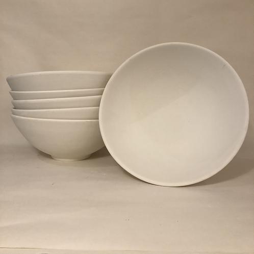 Modern Salad Bowl - 25cm (diam) 10cm (h)