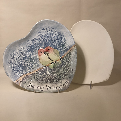 Heart Plates - 3 sizes