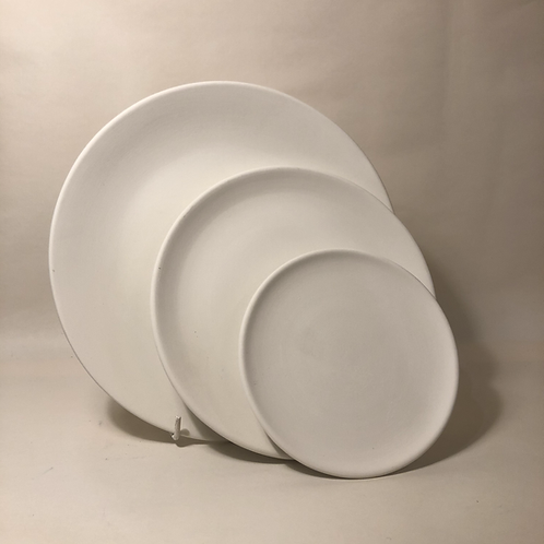 Coupe Plates - 3 sizes