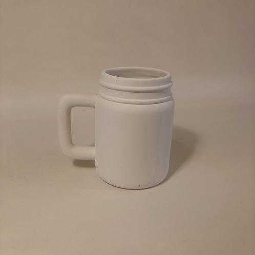 Jar Mug - 11.5cm (h)
