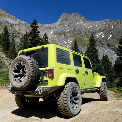 Jeep on Vacation