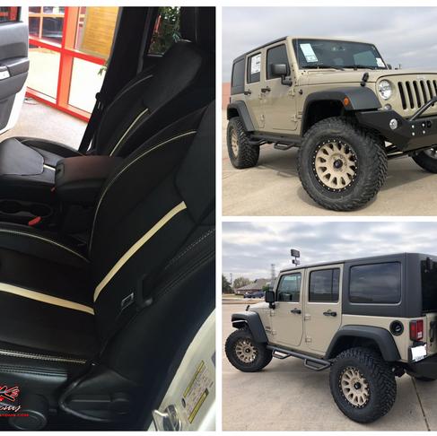 Desert Jeep Upgrade