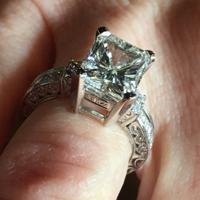 Recut Diamond Ring
