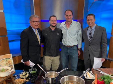 Reata Restaurant Executive Chef James Gaines stops by Good Day Dallas