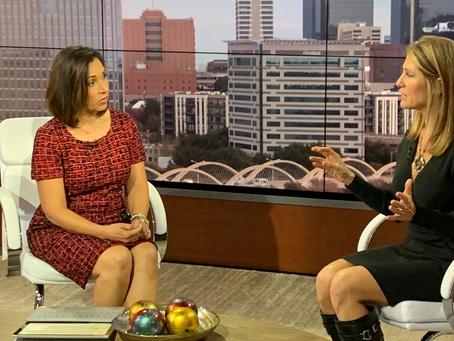 TeamConnor Founder, Joy Cruse, on NBC5 in DFW