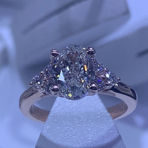 1.5 Carat Oval Diamond Ring