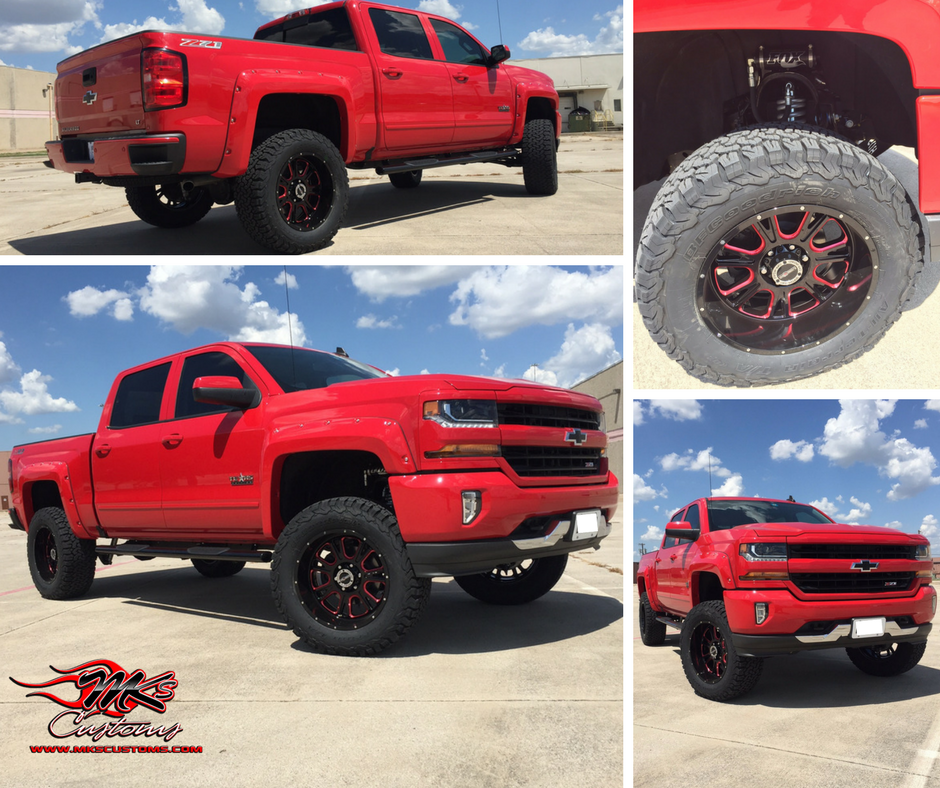 Custom Chevy Silverado Mk's Customs