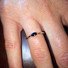 Repurposed Sapphire Ring