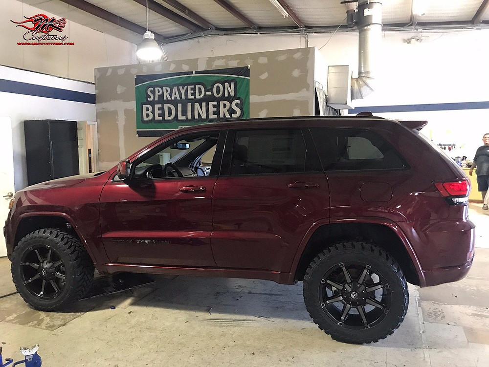 Custom Jeep Grand Cherokee Mk's Customs