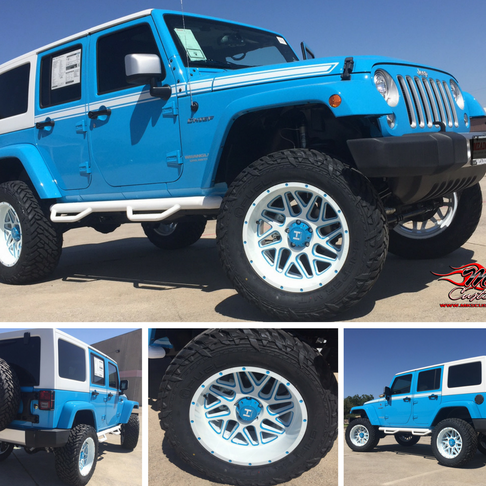 2 tone Jeep