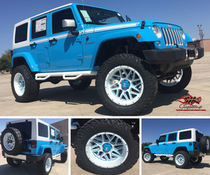 Custom Jeep Wrangler MK's Customs