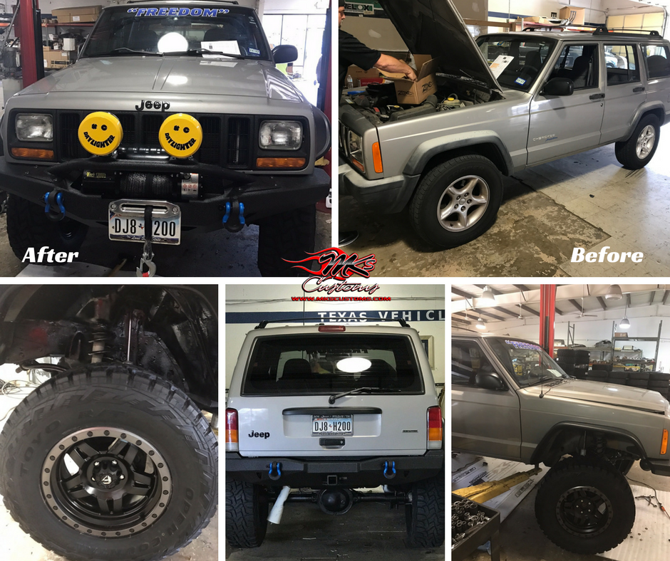 Custom Jeep Cherokee Mk's Customs