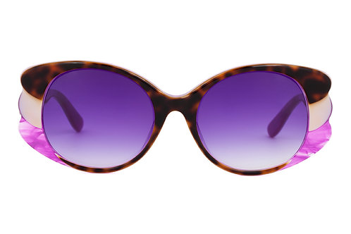 Norma M703 Sunglasses Purple Lenz