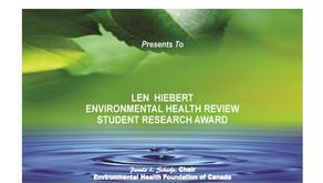 Announcing the Len Hiebert E.H.R. Student Research Award