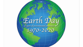 HAPPY EARTH DAY - 50 Years of Environmental Awareness