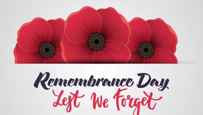 November 11, 2020 Remembrance Day
