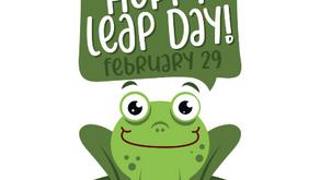 Leap Year Feb 29, 2020