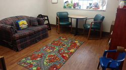 One of Our Visit Rooms