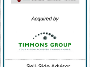 Chesapeake Corporate Advisors (CCA) Serves as Exclusive Financial Advisor to Robert H. Vogel Enginee