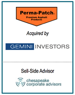 CCA Serves as Exclusive Financial Advisor to Perm-Patch, Inc