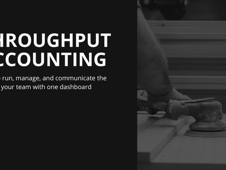 AWI Elevate conference slide deck: Throughput Accounting