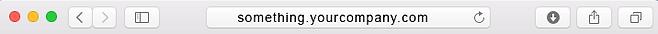 Allmoxy custom domain name