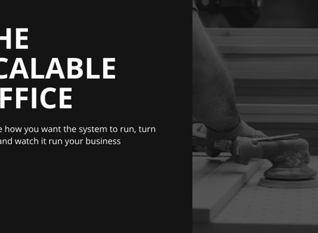 AWI Elevate conference slide deck: The Scalable Office