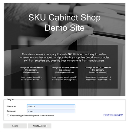 Sku Cabinet demo allmoxy
