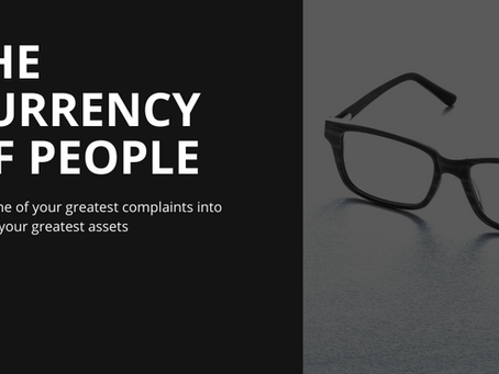 AWI Elevate conference slide deck: The Currency of People