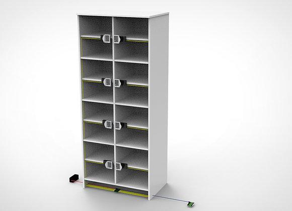 Wired Locker Mount