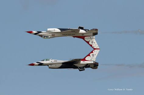 Thunderbirds Mirror Image