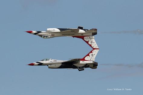 Thunderbirds Mirror Image