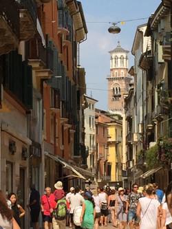 Shopping area of Verona