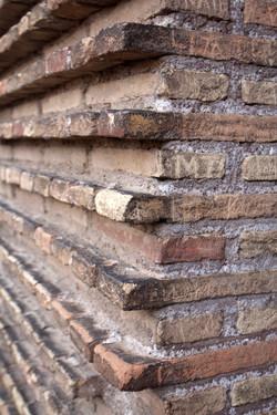 Coloseum bricks