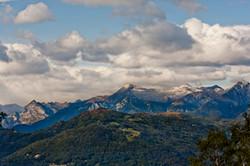 The Alps from Monte Brè