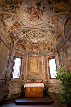 Fresco in a Lugano church