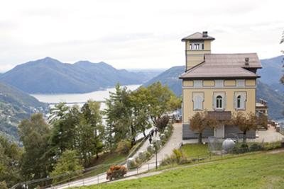 Lugano hillside villa
