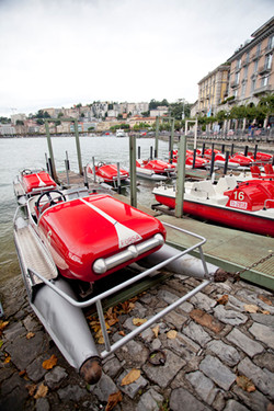 Rental boats of Lake Lugano